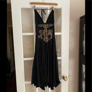 Mara Hoffman Black & Gold Dress